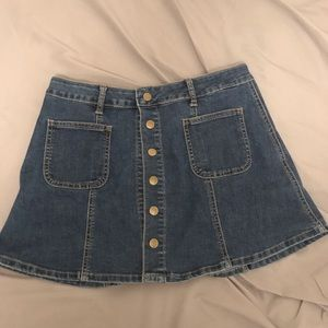 Denim Alter'd State Skirt